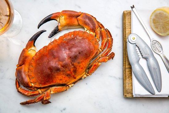 Paternoster Chop House: Crab