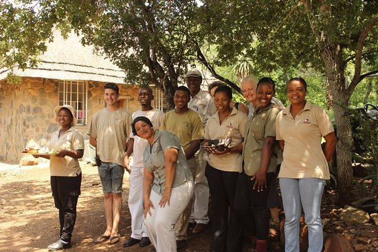Mkuze, Южная Африка: The Somkhanda staff gave us a very warm welcome