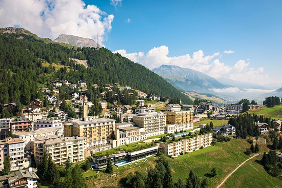 Kulm Hotel St. Moritz Resmi