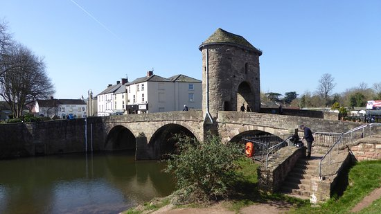 Monmouth, UK: Monnow Bridge
