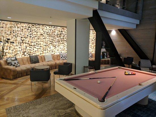 Hotel Zetta San Francisco: Cool lobby!