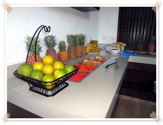 Restaurante Maria de la Luz: Deliciosa fruta en temporada...