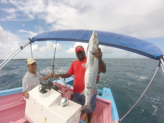 Buccoo, Tobago: The last strike, A nice Baracuda