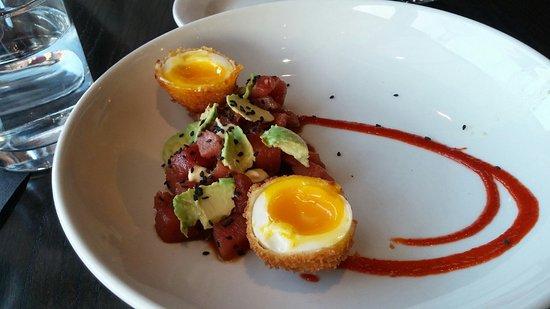 Lawrence, Kansas: Tuna Appetizer
