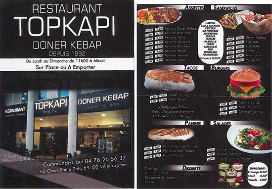 topkapi villeurbanne restaurant avis num ro de t l phone photos tripadvisor. Black Bedroom Furniture Sets. Home Design Ideas