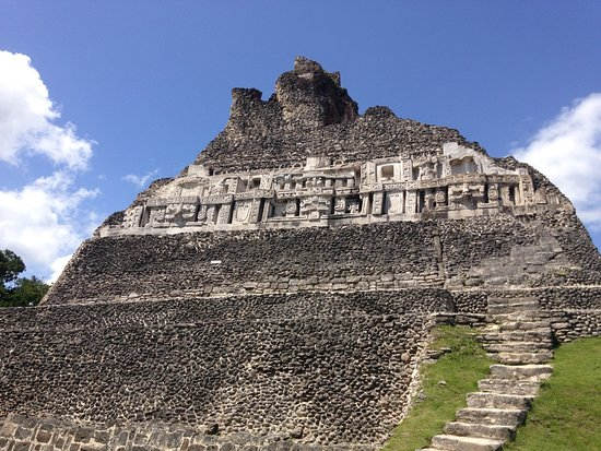 Chukka Caribbean Adventures in Belize: Xunantunich Myan Ruins Ruins with lunch