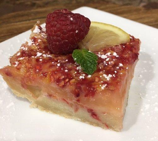Ennis, TX: Raspberry Lemon Bar