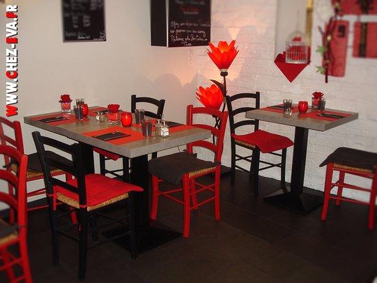 Saint Die des Vosges, França: Bienvenue Chez Eva