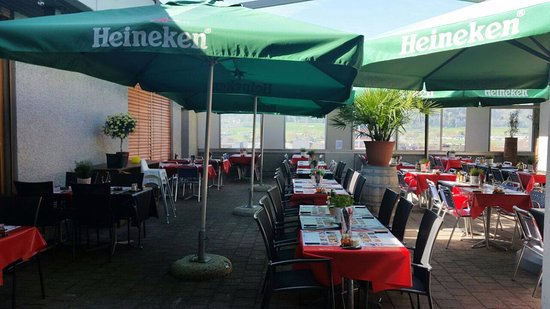 Dietikon, İsviçre: Unsere Dachterasse