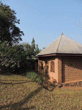 Dschang, Cameroon: Un 'boukarou' (bungalow)