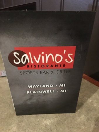 Wayland, MI: New menu and style combines with their other restaurant in Plainwell/Otsego