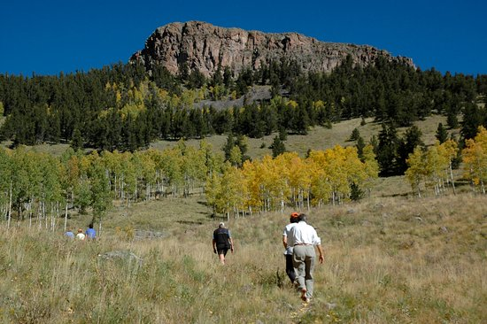 Creede, Κολοράντο: Hiking to Table Rock