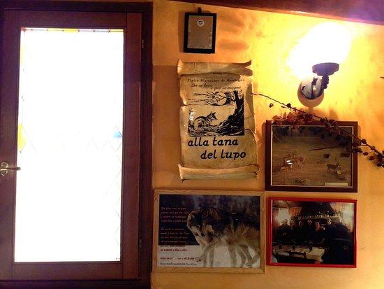Leonessa, Italy: Una delle sale del ristorante