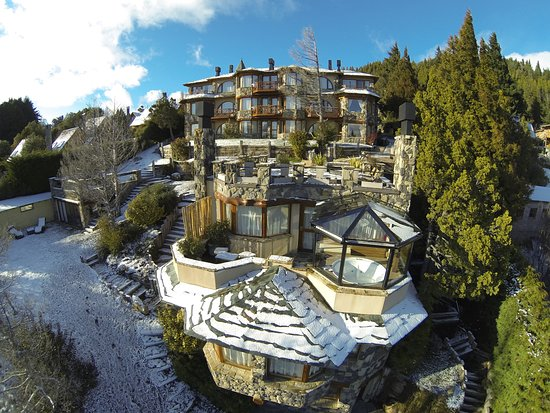 Lirolay Suites : Todas las habitaciones ofrecen plena vista al lago