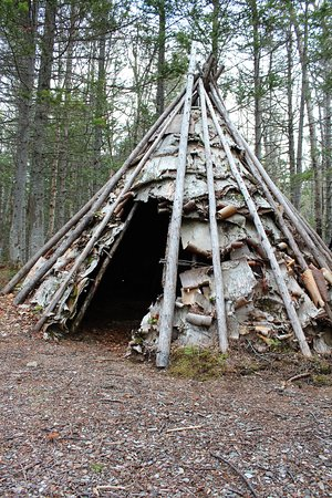Millertown, Canada: Nearby Indian Point is home to Beothuck Mamateek Replicas