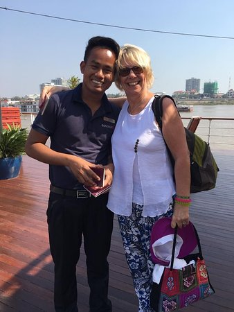 Pandaw River Cruises: I even met Ollie Murs - well that's what we called him