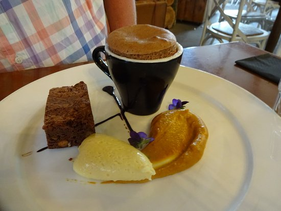 Waihi, New Zealand: Chocolate dessert - outstanding
