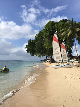 Tamarind by Elegant Hotels: Catamarans, tubing, banana boats, water-skiing, and sea kayaks...all available and included.
