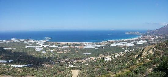 Falassarna, Grecia: Vista panoramica sulla spiaggia