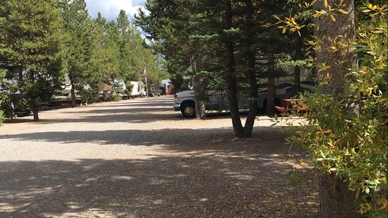 Rustic Wagon RV Campground & Cabins: View From Inside the RV Park