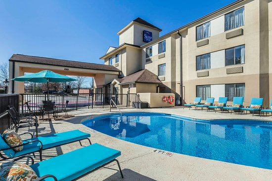 Sleep Inn Gaffney, Pool & Outdoor Lounge