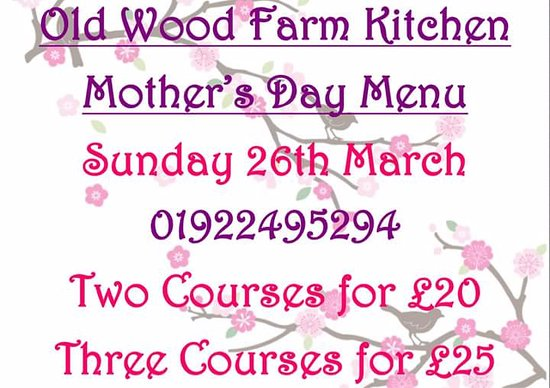 Essington, UK: Mothers day details