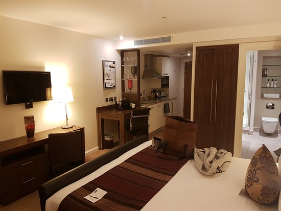 Staybridge Suites London-Stratford City: Everything was fantastic
