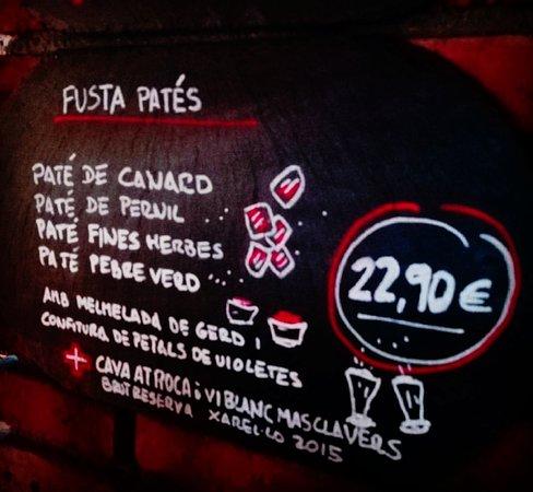 Viladrau, إسبانيا: Fusta de Patés
