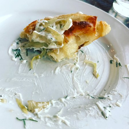 Prairie Harvest Cafe : Sauerkraut Pierogi
