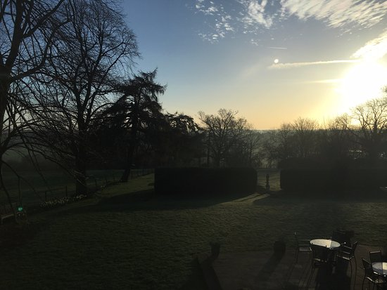 Worfield, UK: Beautiful view from our window