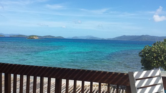 Sapphire Beach Resort: Our view from Glass House on the sea