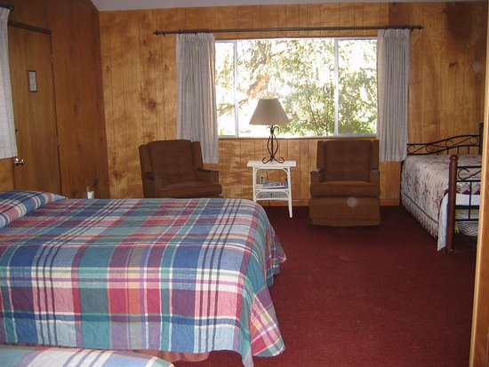 Caliente, Kaliforniya: Lodging in comfortable mountain cabins.