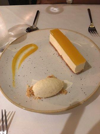 Zuni: Mango Cheese Cake with Coconut Ice-cream