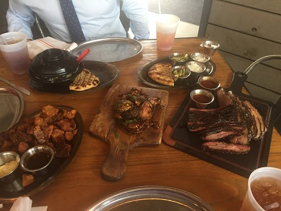 Photo of BBQ Joint Woodshed Smokehouse Restaurant at 3201 Riverfront Drive, Fort Worth, TX 76107, United States