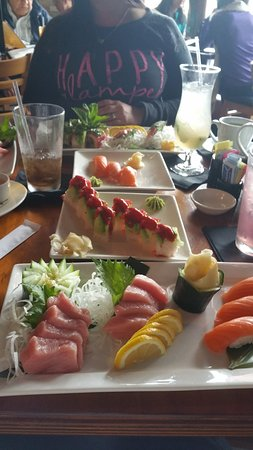 Japaneiro's Sushi Bistro & Latin Grill: Birthday lunch