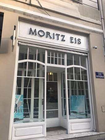 Moritz Eis: ベオグラードでアイスを食べるならここ!! 1つの味で160ディナール。二階でゆっくりとアイスを食べる事も出来ます。因みに二階にあるトイレはとても清潔です👌