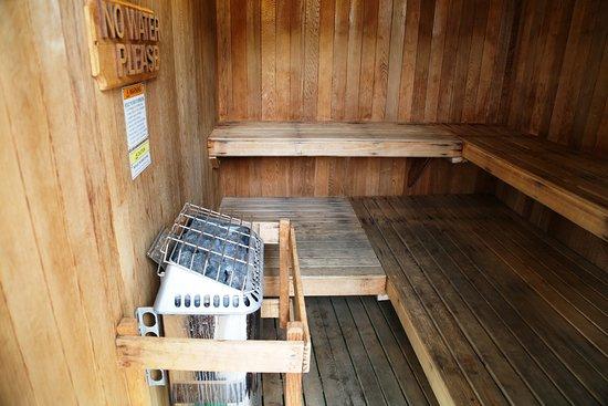 Laguna Hills, Καλιφόρνια: Saunas