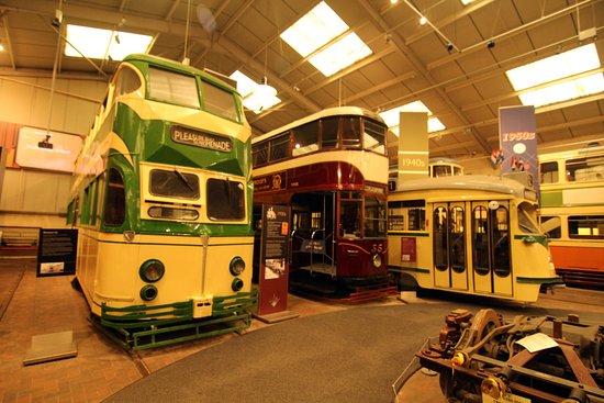 "Matlock, UK: Inside the ""show"" building"
