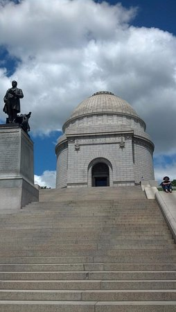 Canton, OH: The monument.