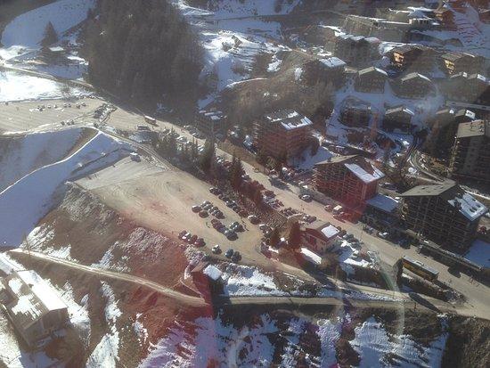 Grimentz, İsviçre: Vue panoramique