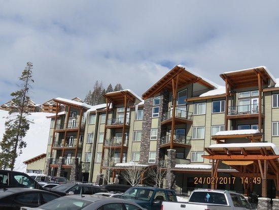Mountain Spirit Resort: The Resort as we are leaving