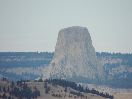Devils Tower, WY: Great veiw and great drive :-)