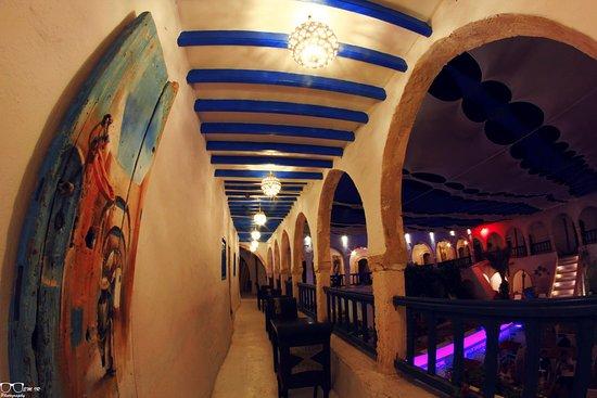 Restaurant elfondouk : ElFondouk by night , the light and decoration make it so beautiful !