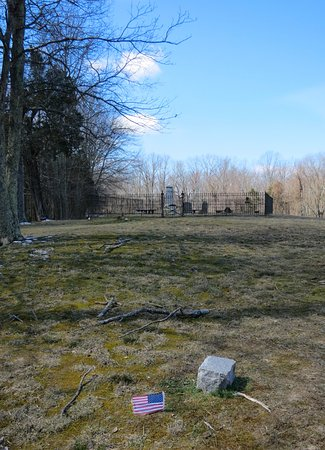 Thomas Stone National Historic Site: Suspected graves of slaves lie outside the family cemetery.