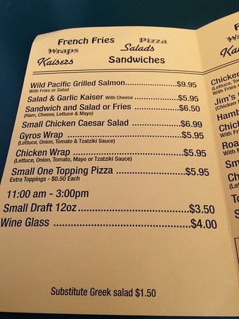 Stirling, Canadá: Jimmy's Special Pizza & Fish & Chips