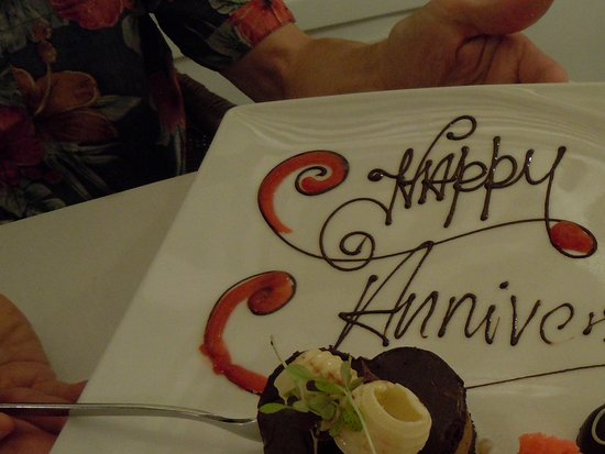 Half Moon: They always remember your special day from year to year--Sugar Mill restaurant