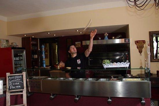 Dorsten, Alemania: Das ist der Koch Eddi.