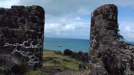 Marigot, St-Martin/St Maarten: Vista verso il mare aperto