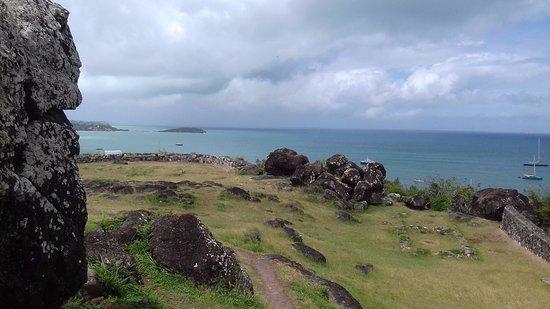 Marigot, St-Martin/St Maarten: Vista verso Anguilla