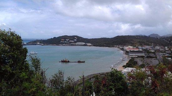 Marigot, St-Martin/St Maarten: Vista verso Galisbay